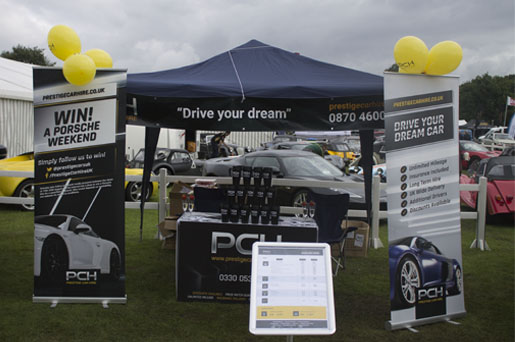 Photo of the PCH stand at the Tatton Park show