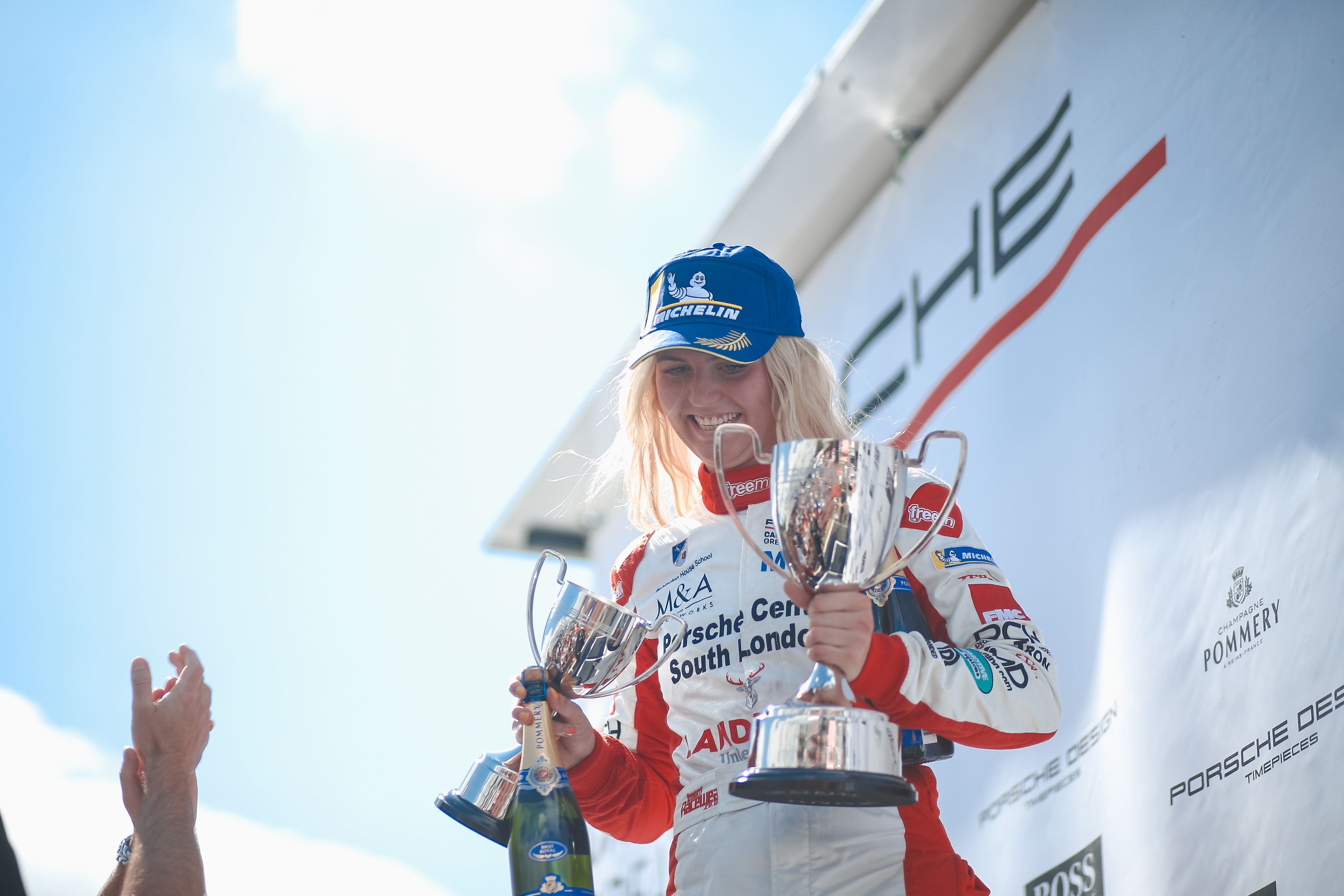 Hawkey on top of her game with Carrera Cup Victory